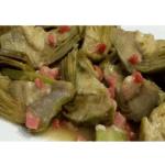 Ricetta per carciofi con prosciutto nel Bimby
