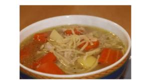 Zuppa di pollo con Bimby