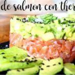 Tartaro di salmone con Bimby