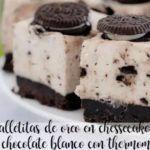 Biscotti Oreo in chessecake al cioccolato bianco con Bimby