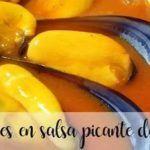 Cozze al vapore con salsa di pomodoro piccante con Bimby