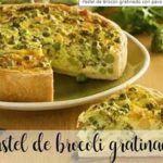 Broccoli di tacchino al gratin con Bimby