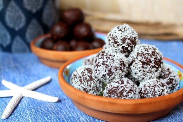 Ricetta di palline di vaniglia e anacardi con il Bimby