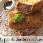 Latte fritto al cioccolato con thermomix